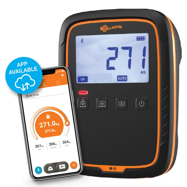 W-0 Weigh Scale phone app